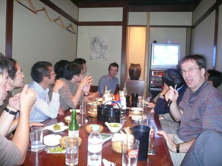第6回日米先端工学シンポジウム(JAFoE)カラオケセッション