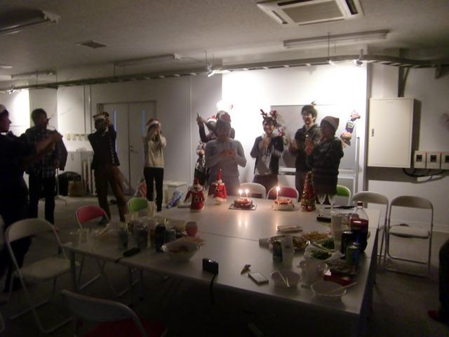2013年12月大武研究室クリスマスパーティー