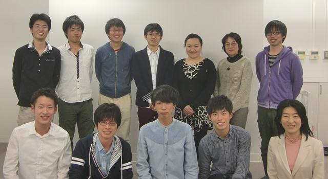 大武研究室メンバー2014